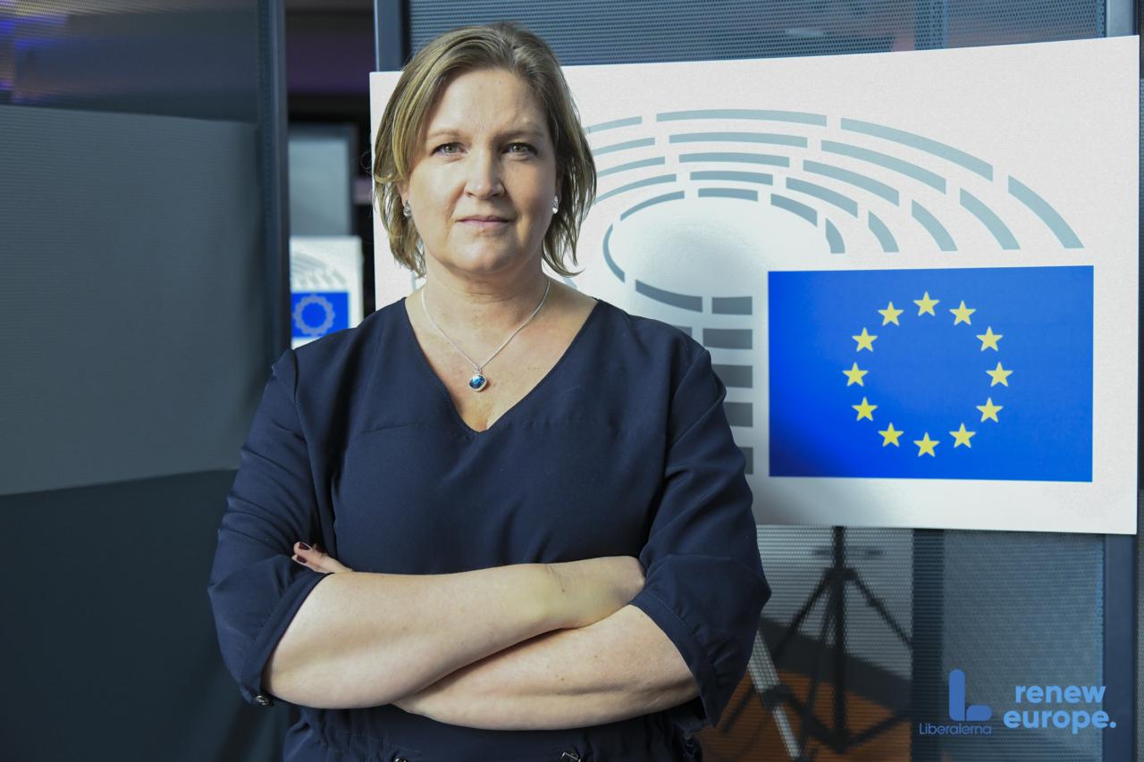 Karlsbro (L) om kommissionens förslag för ny handelsstrategi