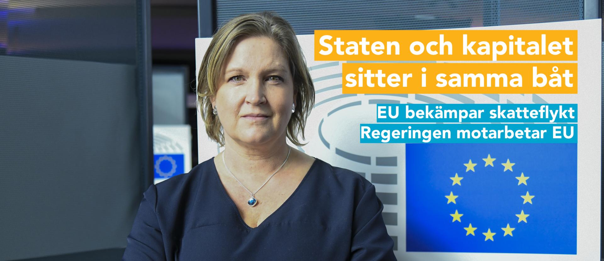 Karlsbro (L): Äntligen agerar EU mot skattesmitning. Men inte tack vare den svenska regeringen