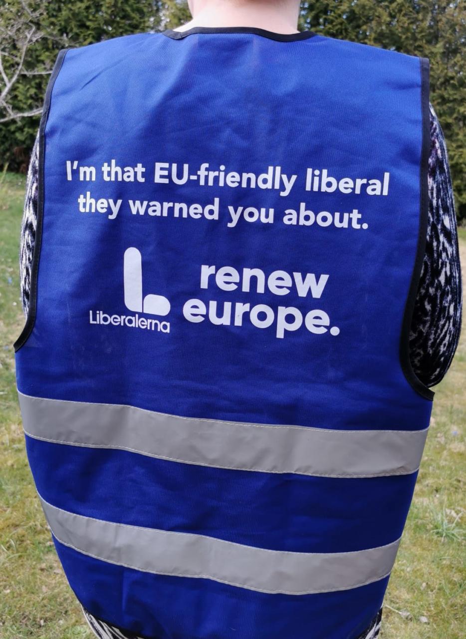 Liberalerna ploggar för ett renare Europa